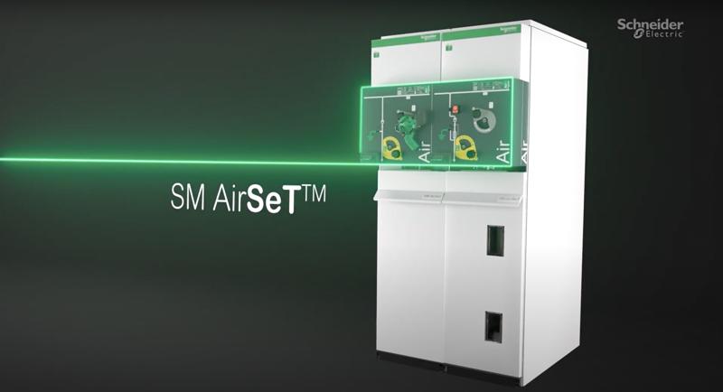 Celda de media tensión de SM AirSeT