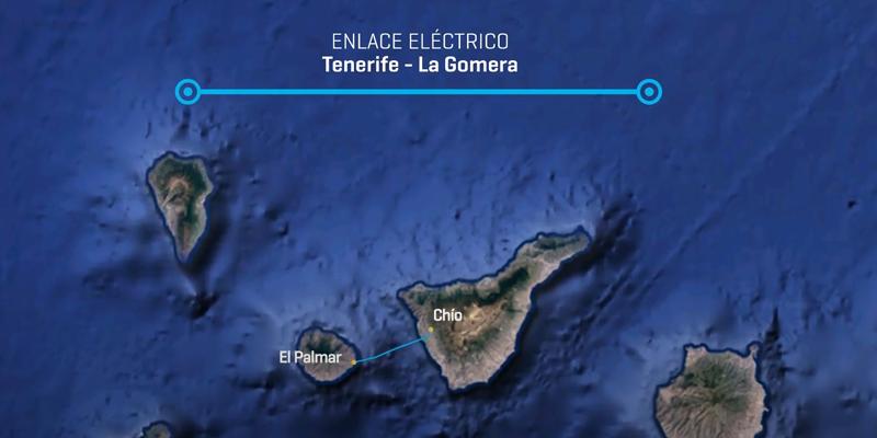 interconexión eléctrica submarina entre las islas de Tenerife y La Gomera