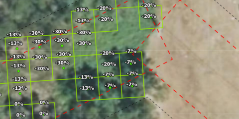 Aplicación de imágenes satelitales para el control de la masa forestal
