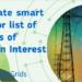 Abierta la consulta pública sobre los proyectos candidatos de la quinta lista de PCI en smart grids