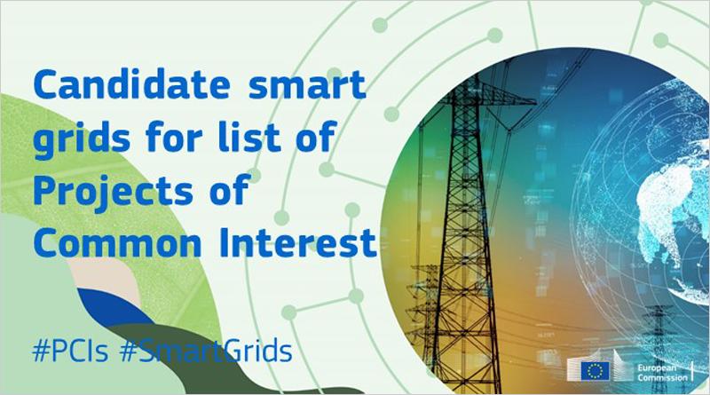 una consulta pública sobre los méritos de los proyectos candidatos para la quinta lista de Proyectos de Interés Común (PCI) de la Unión Europea en el ámbito de las smart grids