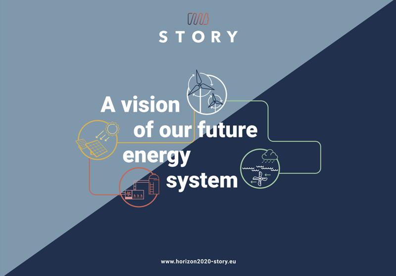 Logo y lema del proyecto Story