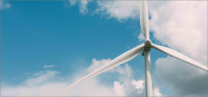 Turbina eólica.