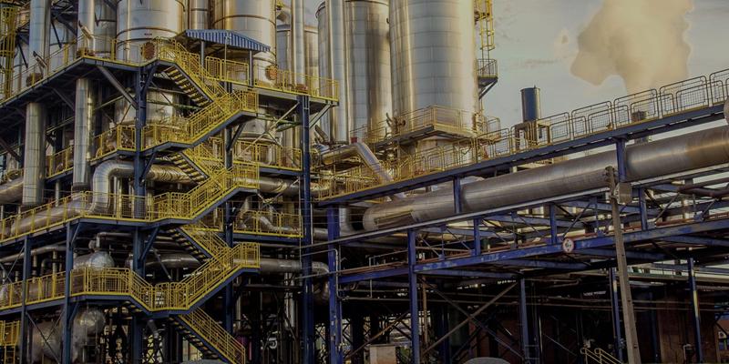 emisiones en una fábrica