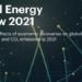 La IEA prevé el aumento de casi un 5% de las emisiones de CO2 a nivel mundial en 2021