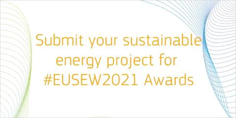 Abierta la convocatoria de los Premios de Energía Sostenible de la Unión Europea 2021