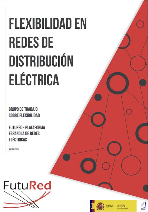 Portada del informe 'Flexibilidad en redes de distribución eléctrica'