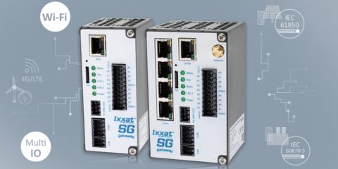 Digitalización y conexión con las pasarelas de Smart Grid de la serie Ixxat de HMS Networks