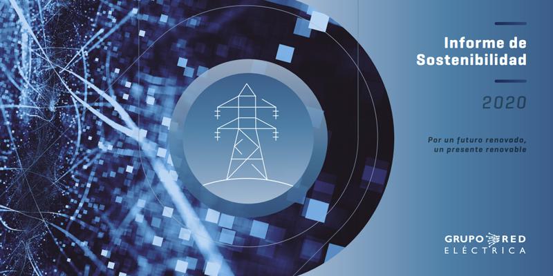 Portada Informe de Sostenibilidad 2020 de Grupo Red Eléctrica