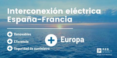 Comienza la tramitación de la interconexión eléctrica entre España y Francia por el Golfo de Bizkaia