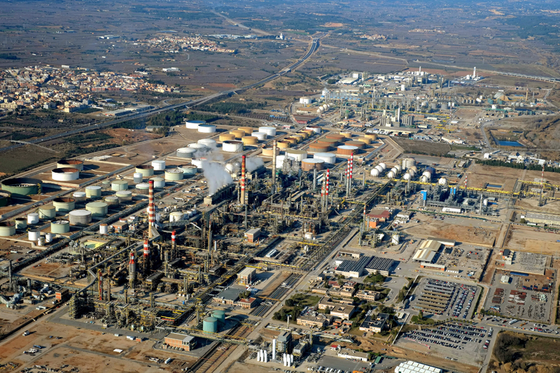 Complejo químico de Tarragona de Messer Ibérica