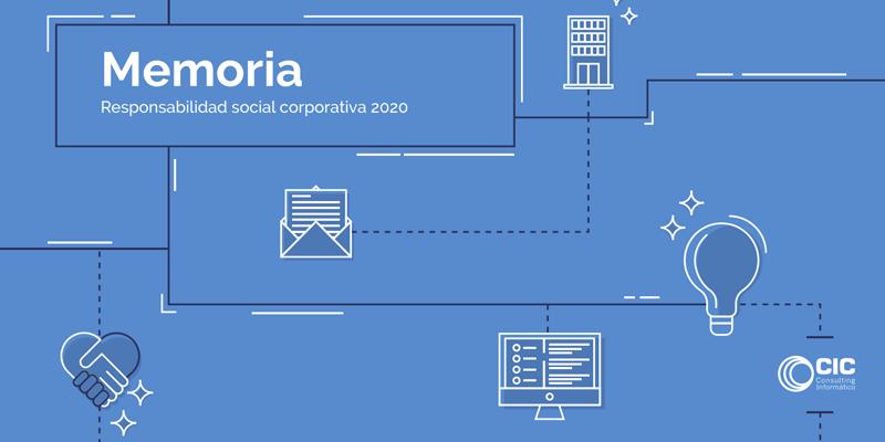 Portada Memoria de Responsabilidad Social Corporativa 2020