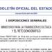 El BOE publica la orden por la que se establecen los precios de los cargos del sistema eléctrico
