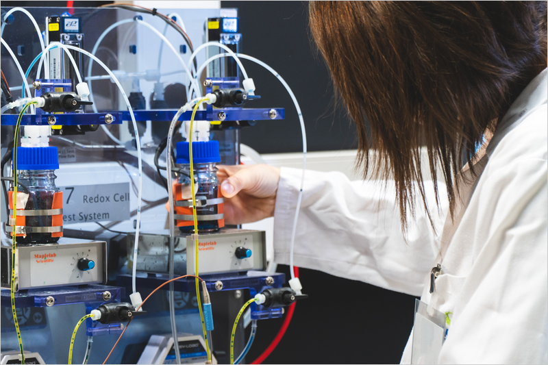 Investigación baterías de flujo redox