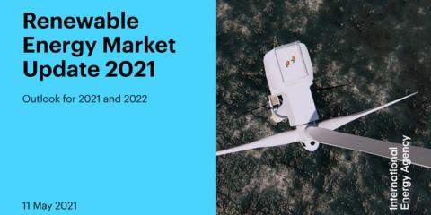 La nueva capacidad de electricidad renovable mundial aumentó un 45% en 2020, el ritmo más rápido en dos décadas