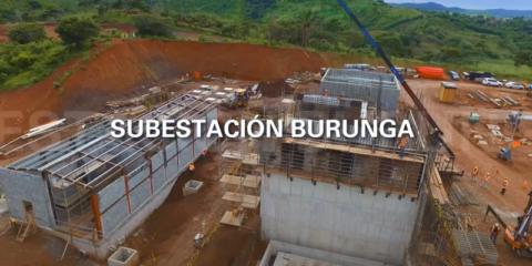 Izharia participó en el proyecto de la Subestación de Burunga