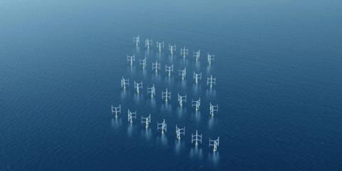 Una investigación revela una mayor eficiencia de los aerogeneradores verticales sobre los tradicionales