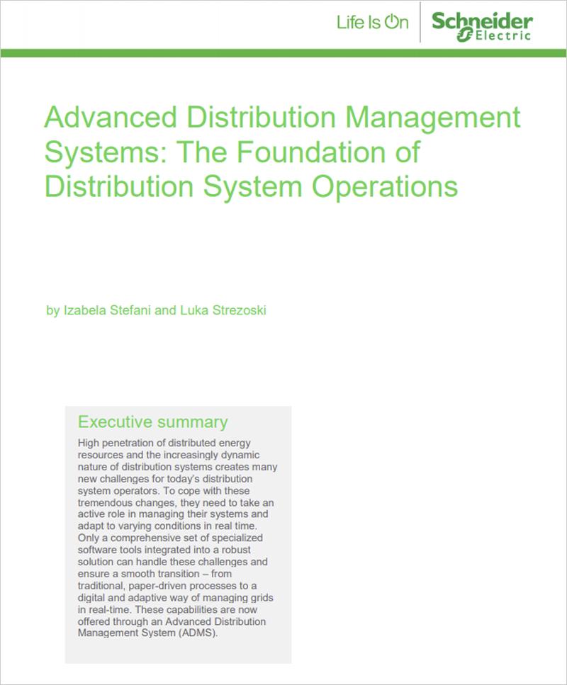 Sistemas avanzados de gestión de distribución: la base de las operaciones del sistema de distribución