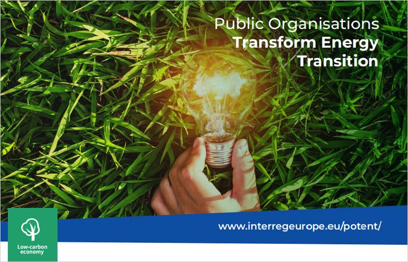El Ayuntamiento de Pamplona presenta a sus socios en POTEnT su proyecto de comunidad energética basada en autoconsumo fotovoltaico.