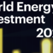 La IEA destaca en un informe la recuperación de las inversiones mundiales en energía en 2021