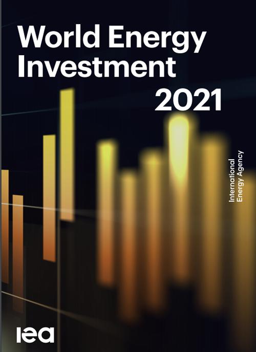 Portada del informe 'World Energy Investment 2021'