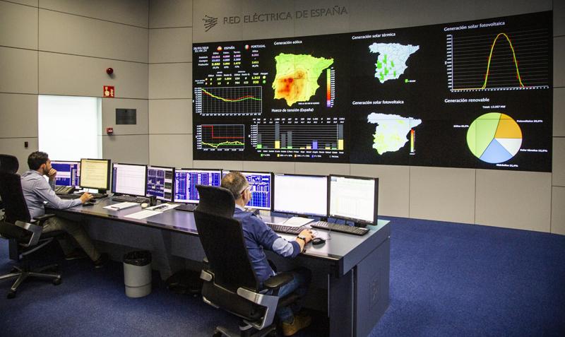 Centro de Control de Energías Renovables de Red Eléctrica de España