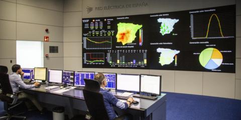 El CECRE de Red Eléctrica de España, herramienta clave para la integración de renovables y la seguridad del sistema eléctrico