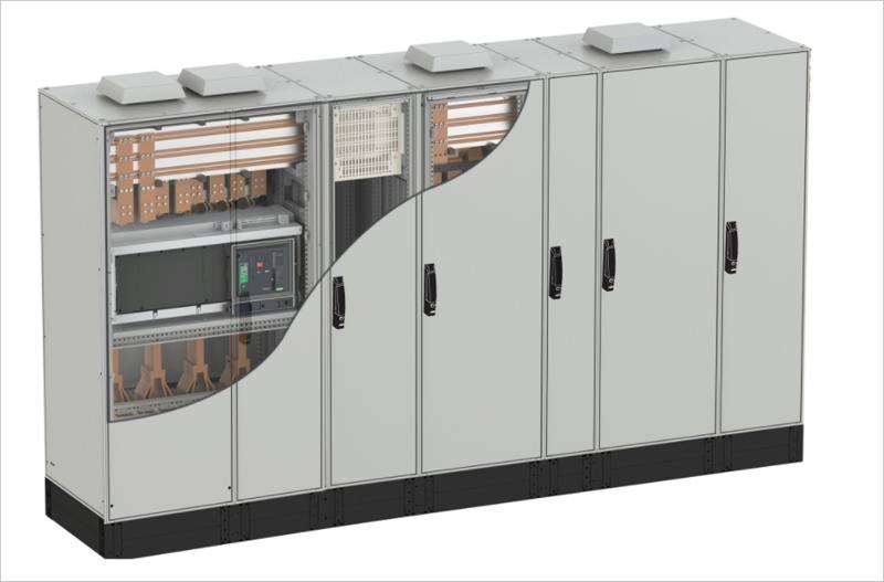 Schneider Electric amplia las gamas Prisma y Spacial, con el sistema SFP, para cuadros de distribución eléctrica en BT hasta 6.300A