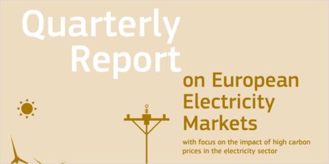 La CE publica el informe sobre el mercado de la electricidad en el primer trimestre de 2021