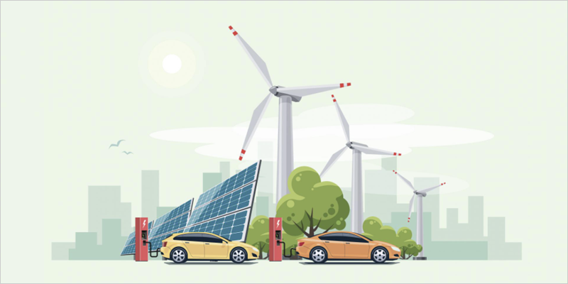 Ilustración energías renovables