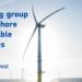 Convocatoria de la Comisión Europea para crear un grupo de trabajo sobre energías renovables offshore