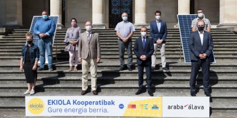 Se constituyen en Álava seis cooperativas energéticas comarcales en el marco del proyecto Ekiola