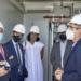 La nueva planta de almacenamiento renovable de Tudela recibe la visita de las autoridades navarras