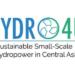 El proyecto Hydro4U desarrollará instalaciones hidroeléctricas a pequeña escala para Asia Central