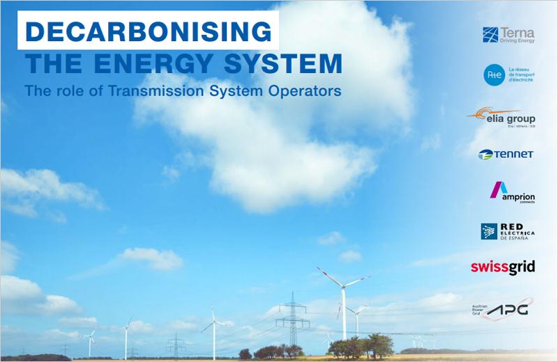 Ocho de los principales TSO europeos lanzan una iniciativa común para apoyar un sistema eléctrico que permita alcanzar la neutralidad en carbono