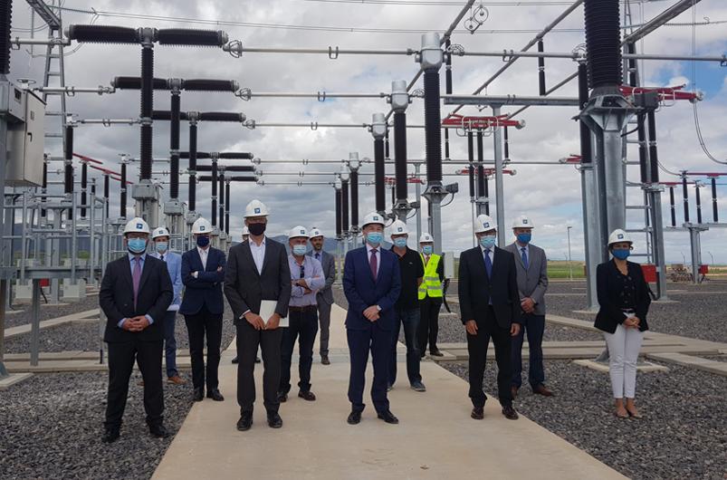 Red Eléctrica culmina la construcción de la nueva subestación de Cariñena, que permitirá electrificar el ferrocarril en el Corredor Mediterráneo