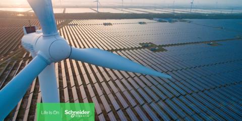 Schneider Electric supera los 10.000 MW gestionados en acuerdos de compraventa de energía renovable