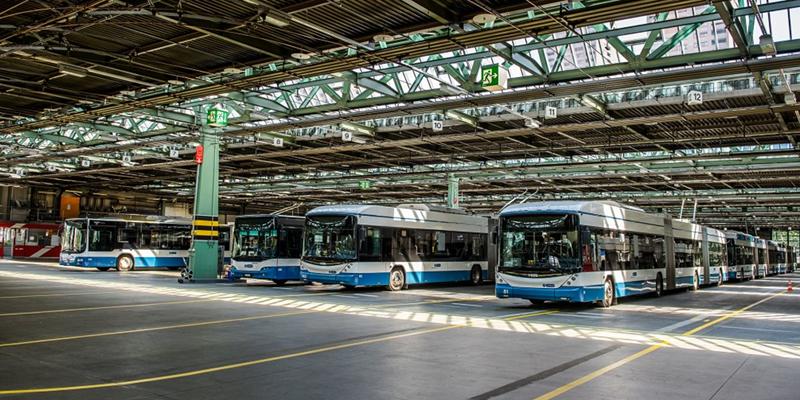 La solución de carga eBus de Siemens allana el camino para el transporte en autobús climáticamente neutro en Zúrich