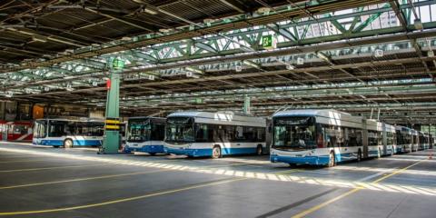 Siemens instalará 45 estaciones de carga eBus en el garaje de autobuses públicos de Zurich