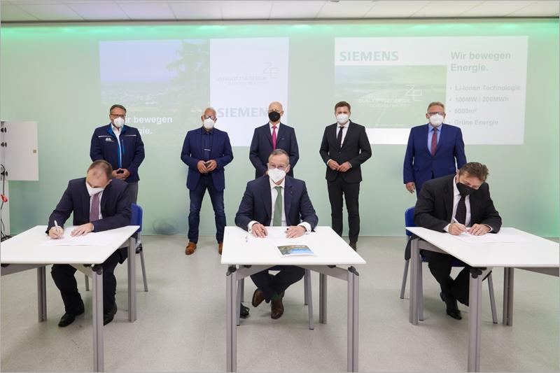 Siemens construirá una de las instalaciones de almacenamiento de batería más potentes de Europa