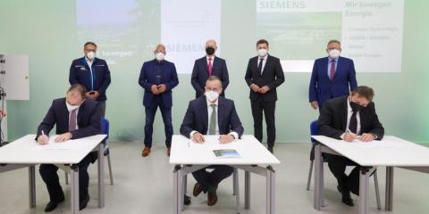 Siemens construirá en Alemania una planta de almacenamiento energético de 100 MW