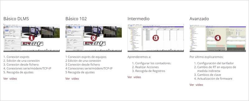 Los cuatro vídeos formativos de ZIVerQ