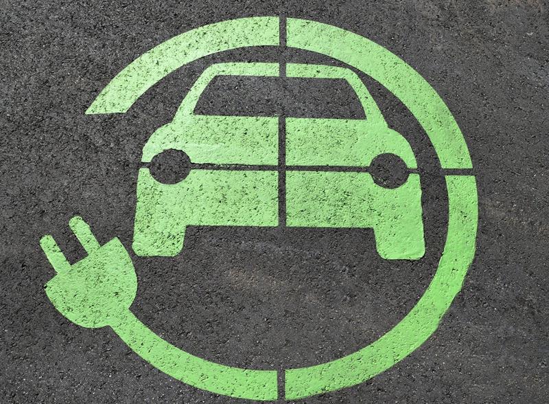 Señal vehículo eléctrico