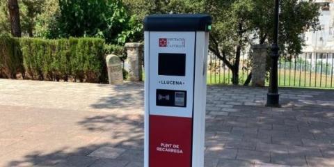Plan provincial para activar una red de 20 puntos de recarga semirrápida de VE en los municipios de Castellón