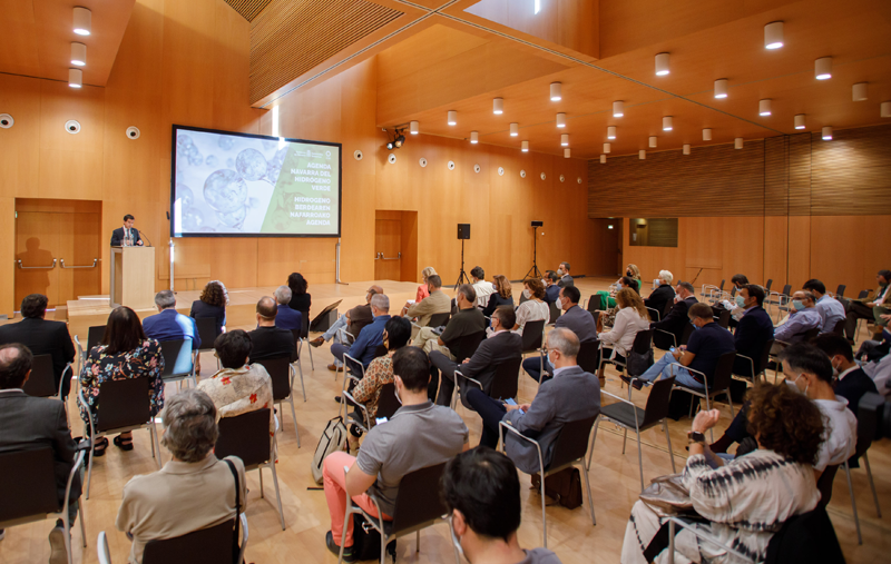 Presentación Agenda Navarra del Hidrógeno Verde