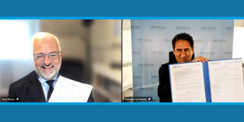 Alianza entre Irena y el Hydrogen Council para promover el hidrógeno verde en todo el sistema energético