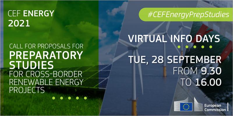 Jornada online informativa sobre las prioridades del programa de energía del Mecanismo Conectar Europa
