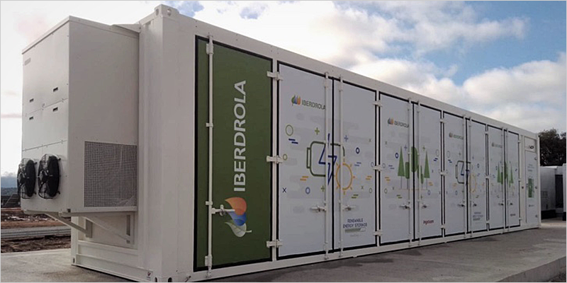 Arañuelo III sistema almacenamiento energía
