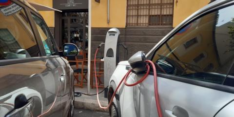 Sale a licitación la ampliación de la red de puntos de recarga eléctrica del Ayuntamiento de Palma