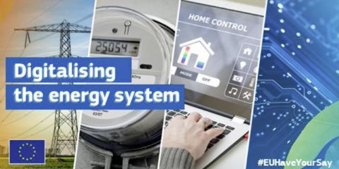 Consulta pública de la Comisión Europea para elaborar su plan de digitalización del sistema energético